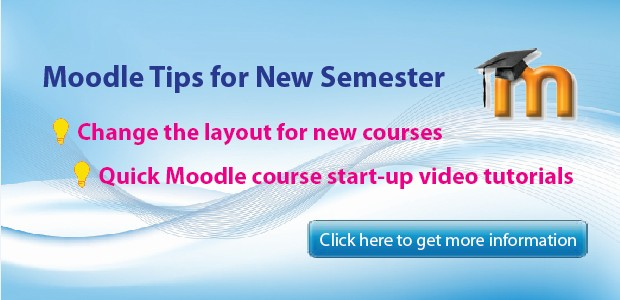Moodle Tips for New Semester